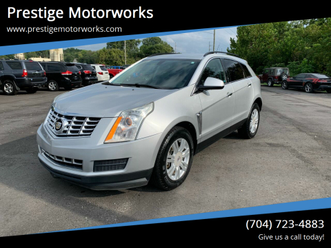 2013 Cadillac SRX for sale at Prestige Motorworks in Concord NC
