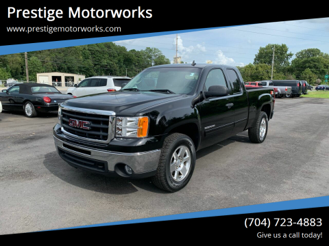 2011 GMC Sierra 1500 for sale at Prestige Motorworks in Concord NC