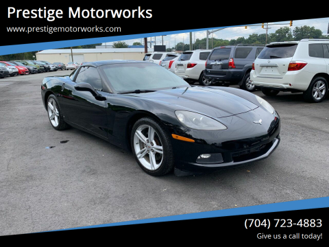 2009 Chevrolet Corvette for sale at Prestige Motorworks in Concord NC