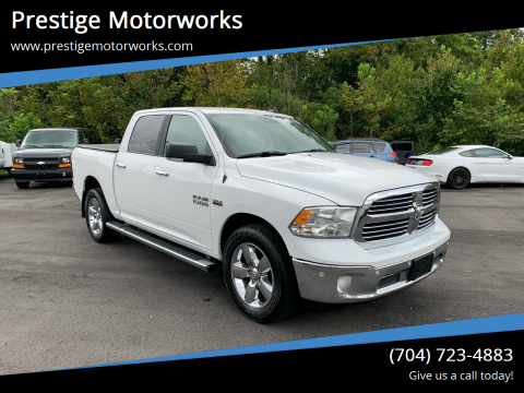 2018 RAM Ram Pickup 1500 for sale at Prestige Motorworks in Concord NC