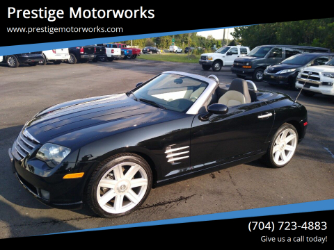 2005 Chrysler Crossfire for sale at Prestige Motorworks in Concord NC