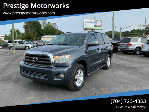 2008 Toyota Sequoia for sale at Prestige Motorworks in Concord NC