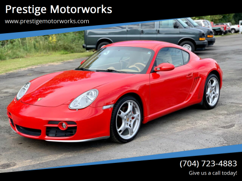 2006 Porsche Cayman for sale at Prestige Motorworks in Concord NC