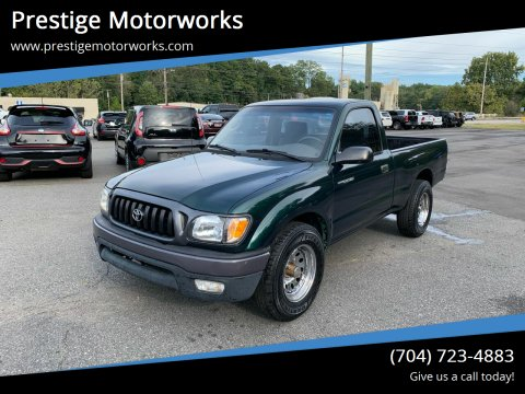 2001 Toyota Tacoma for sale at Prestige Motorworks in Concord NC