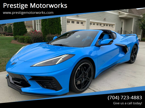 2020 Chevrolet Corvette for sale at Prestige Motorworks in Concord NC