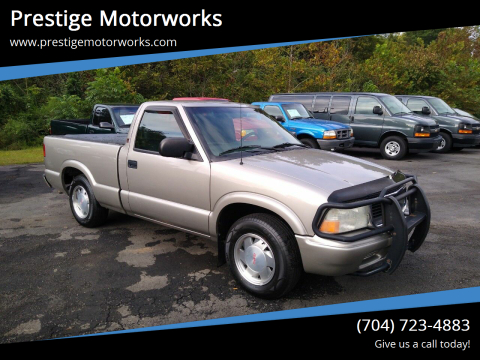 2002 GMC Sonoma for sale at Prestige Motorworks in Concord NC