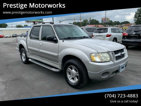 2003 Ford Explorer Sport Trac for sale at Prestige Motorworks in Concord NC