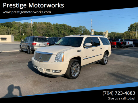 2008 Cadillac Escalade ESV for sale at Prestige Motorworks in Concord NC