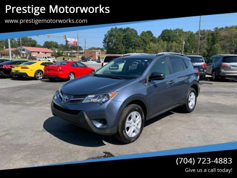 2014 Toyota RAV4 for sale at Prestige Motorworks in Concord NC