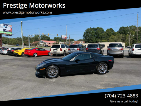2008 Chevrolet Corvette for sale at Prestige Motorworks in Concord NC