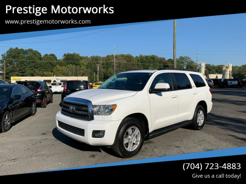 2016 Toyota Sequoia for sale at Prestige Motorworks in Concord NC
