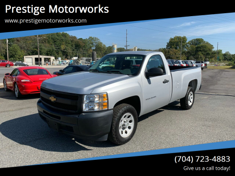 2013 Chevrolet Silverado 1500 for sale at Prestige Motorworks in Concord NC