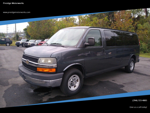 2014 Chevrolet Express Passenger for sale at Prestige Motorworks in Concord NC