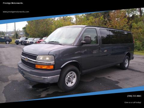 2014 Chevrolet Express Passenger for sale at Prestige Motorworks in Concord NC