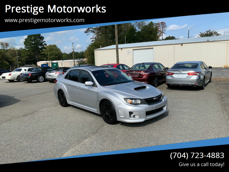 2011 Subaru Impreza for sale at Prestige Motorworks in Concord NC