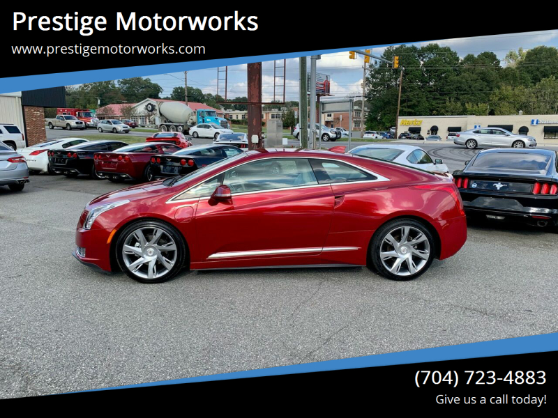 2014 Cadillac ELR for sale at Prestige Motorworks in Concord NC