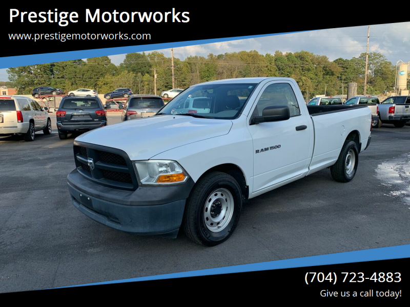 2012 RAM Ram Pickup 1500 for sale at Prestige Motorworks in Concord NC