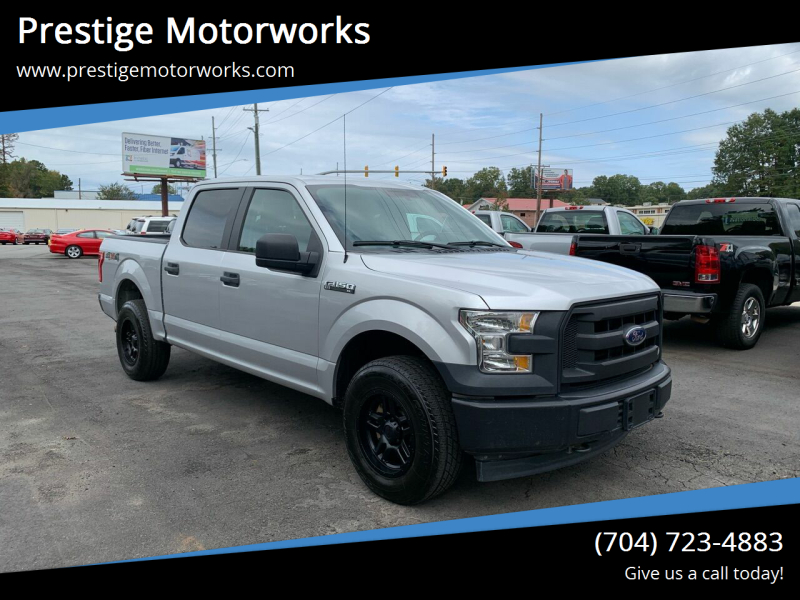 2017 Ford F-150 for sale at Prestige Motorworks in Concord NC