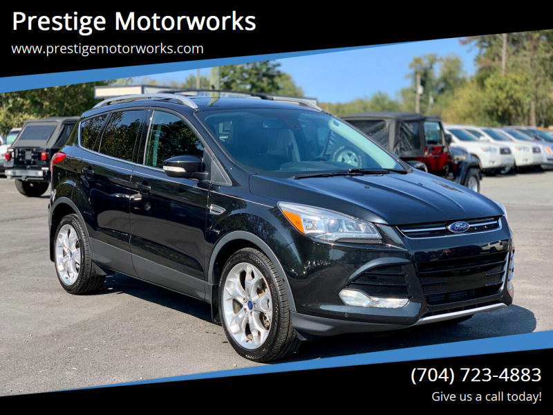 2015 Ford Escape for sale at Prestige Motorworks in Concord NC