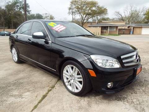 2009 Mercedes-Benz C-Class for sale in Houston, TX
