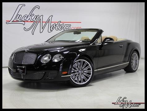 2010 Bentley Continental GTC Speed for sale in Abie, IL