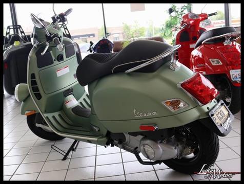 2019 Vespa SEI GIORNI Ltd Edition