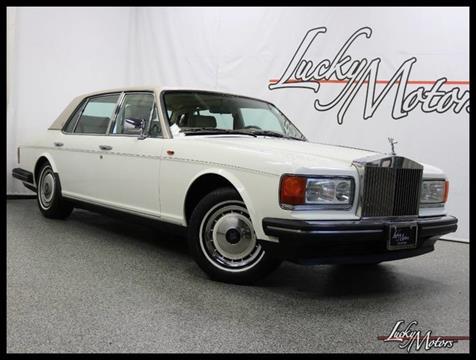 1991 Rolls-Royce Silver Spur for sale in Villa Park, IL