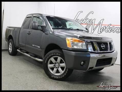 2011 Nissan Titan for sale in Villa Park, IL