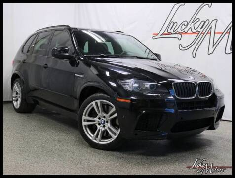 2012 BMW X5 M for sale at LUCKY MOTORS in Villa Park IL