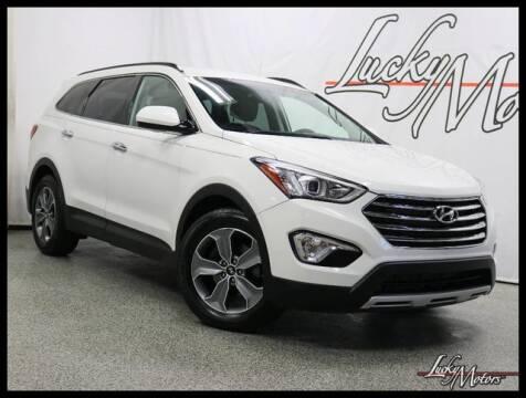 2016 Hyundai Santa Fe SE for sale at LUCKY MOTORS in Villa Park IL