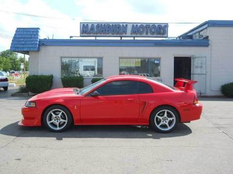 2000 Ford Mustang SVT Cobra for sale at Mashburn Motors in Saint Clair MI