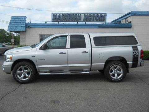2008 Dodge Ram Pickup 1500 for sale at Mashburn Motors in Saint Clair MI