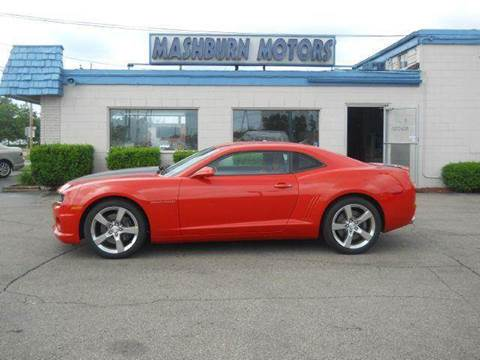 2010 Chevrolet Camaro for sale at Mashburn Motors in Saint Clair MI