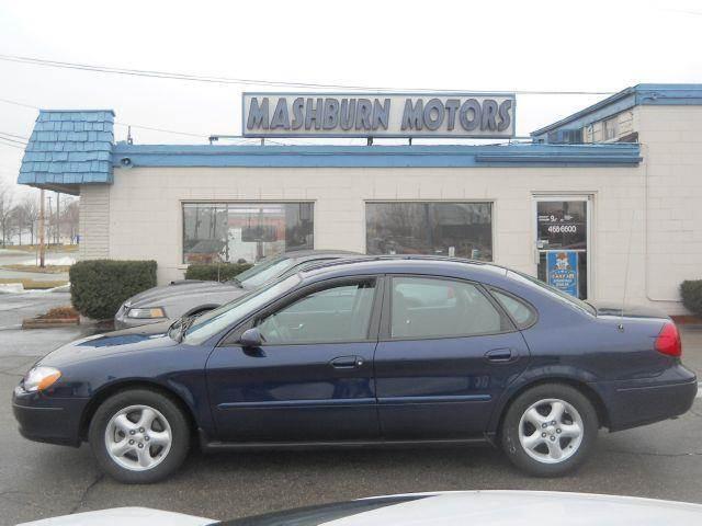 2001 Ford Taurus for sale at Mashburn Motors in Saint Clair MI