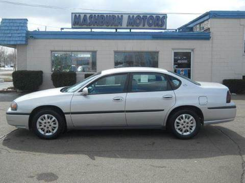 2000 Chevrolet Impala for sale at Mashburn Motors in Saint Clair MI