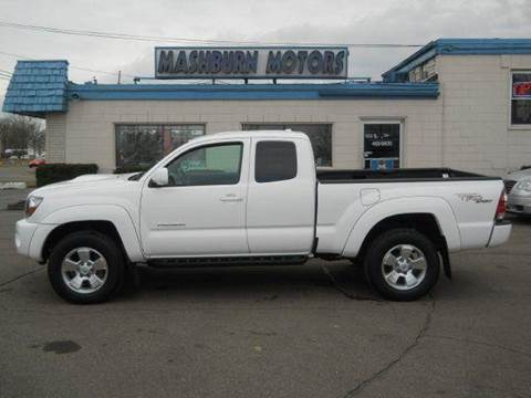 2009 Toyota Tacoma for sale at Mashburn Motors in Saint Clair MI
