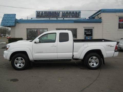 2009 Toyota Tacoma for sale at Mashburn Motors in Saint Clair MI
