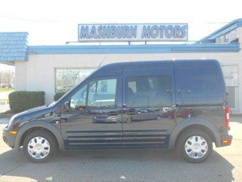 2010 Ford Transit Connect for sale at Mashburn Motors in Saint Clair MI