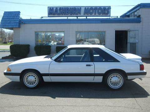 1987 Ford Mustang for sale at Mashburn Motors in Saint Clair MI