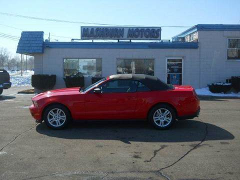 2012 Ford Mustang for sale at Mashburn Motors in Saint Clair MI