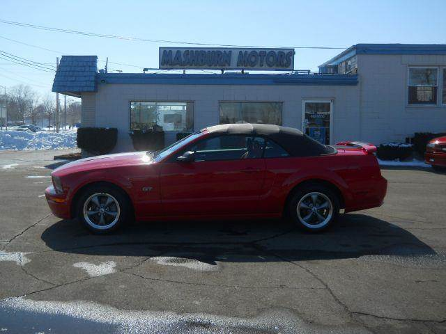 2005 Ford Mustang for sale at Mashburn Motors in Saint Clair MI