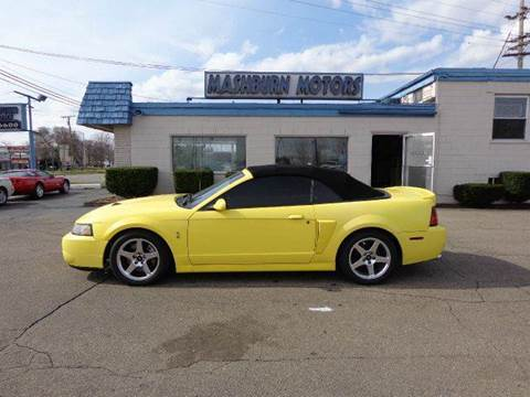 2003 Ford Mustang for sale at Mashburn Motors in Saint Clair MI