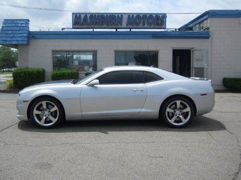 2011 Chevrolet Camaro for sale at Mashburn Motors in Saint Clair MI