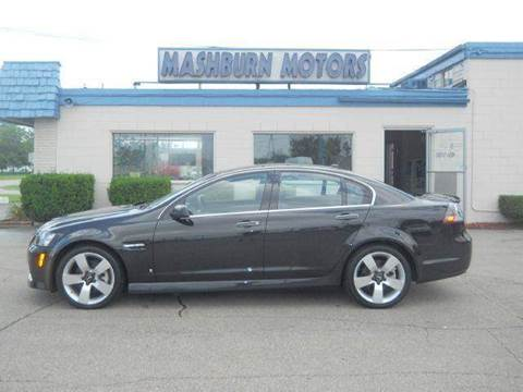 2009 Pontiac G8 for sale at Mashburn Motors in Saint Clair MI