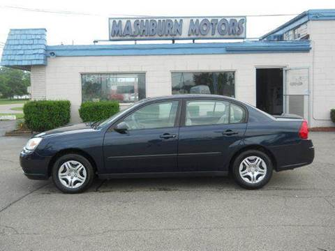 2004 Chevrolet Malibu for sale at Mashburn Motors in Saint Clair MI