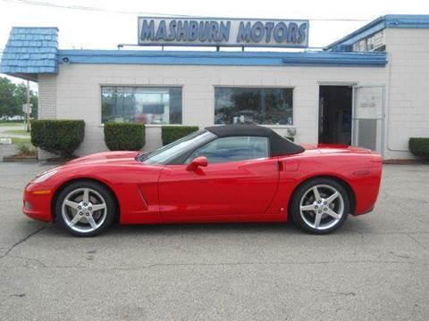 2006 Chevrolet Corvette for sale at Mashburn Motors in Saint Clair MI