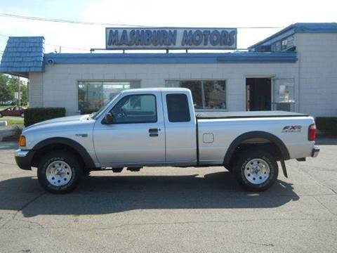 2003 Ford Ranger for sale at Mashburn Motors in Saint Clair MI