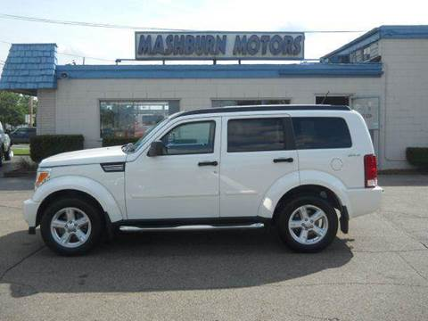 2009 Dodge Nitro for sale at Mashburn Motors in Saint Clair MI