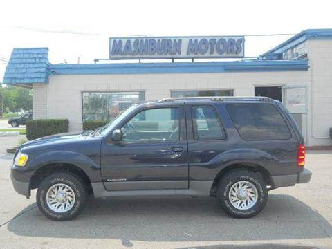 2001 Ford Explorer Sport for sale at Mashburn Motors in Saint Clair MI