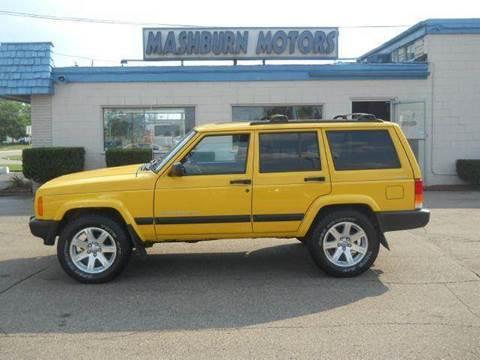 2001 Jeep Cherokee for sale at Mashburn Motors in Saint Clair MI